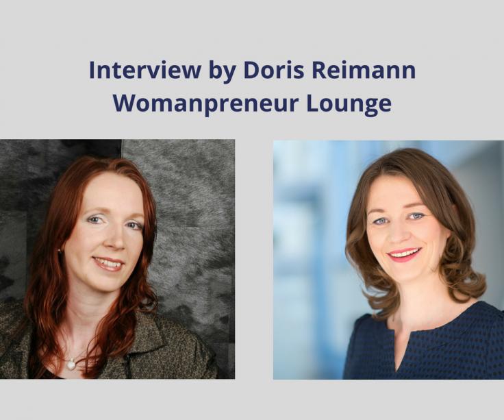 Wie du täglich ein paar Gramm Vitamin B tankst – Interviewreihe by Doris Reimann, Womanpreneur Lounge